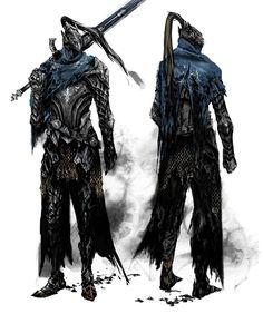Artorias the Abysswalker - Pictures & Characters Art - Dark Souls