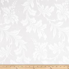 Starlight Botanical Lace Sheers White