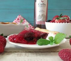 Moscato Mixed Berry Pie - A light, fresh, easy to make berry pie made ...