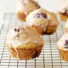 Glazed Blackberry-Lemon Muffins - Weight Watchers