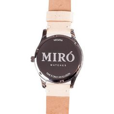 Miró watches — Creme/Nature Back