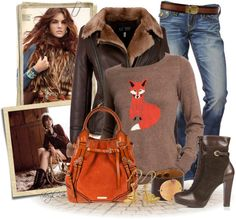 """""""Foxy Lady"""" by sheryl-lee ❤ liked on Polyvore"""