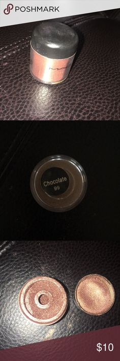 Mac pigment color powder Slightly used but in good condition MAC Cosmetics Makeup Eyeshadow
