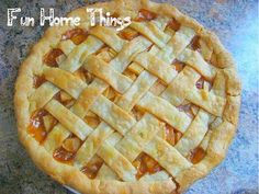 I made this for my husband when we first started dating and now it's a fall tradition! I love making it, we all love eating it, and it's just one of those special things that all of us look forward to every year. I used Fuji apples because they're sweet and don't turn to mush after baking. Granny Smith apples also work …