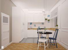 mieszkanie w stylu retro - zdjęcie od Archomega Biuro Architektoniczne