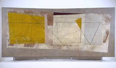 Ben Nicholson OM 'Festival of Britain Mural', 1951 © Angela Verren Taunt All rights reserved, DACS Abstract Painters, Abstract Art, 20th Century Painters, Collage Drawing, Concrete Art, Art Uk, Modern Artists, Mural Art, Textures Patterns