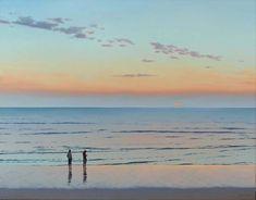 Jim Holland (1955 - Present), American Artist - Sunrise Watch - 22 x 28