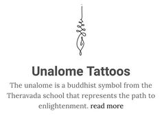 This symbol is a representation of reaching enlightenment for Path to enlightenment tattoo