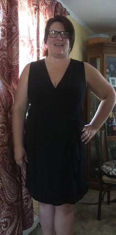 Lexi wrap dress - sz. 2x $78