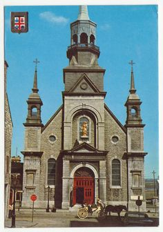 Postcards - Canada #  650 - Notre-Dame Church, Montreal