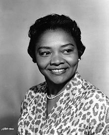 Juanita Moore (October 19, 1914 – January 1, 2014) was an American film, television, and stage actress. She was the fifth African American to be nominated for an Academy Award.