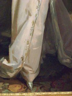 Portrait of Lisa Colt Curtis (detail), 1898, by John Singer Sargent (American, 1856-1925).