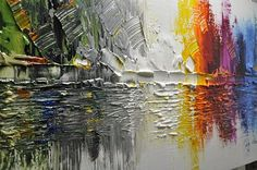 Original Abstract Painting Modern colorful abstract