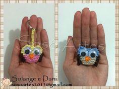 Crochê coruja #owl