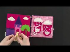 Quiet book pages video