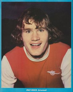 Pat Rice (Arsenal ,Watford & N. Ireland) Pat Rice played in over 500 league games with Arsenal and with Watford. He scored goals) He was capped 49 times for Northern Ireland. He is one of Arsenal players to play in FA Cup Finals. Arsenal Players, Arsenal Football, Arsenal Fc, Football Players, Football Kits, Real Soccer, Soccer Fans, Northern Ireland Fc, Premier League Teams