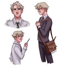 Draco Malfoy by ggns