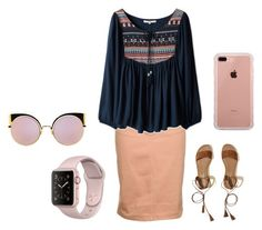 """""""Untitled #113"""" by skirtsandshirts on Polyvore featuring Hollister Co., Fendi and Belkin"""