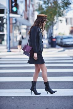 Blank Itinerary in our soft leather booties!