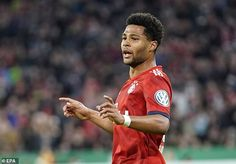 Former Arsenal player Serge Gnabry has been in superb form for Bayern in recent weeks Meet The Team, One Team, Serge Gnabry, Mats Hummels, Arsenal Players, Robert Lewandowski, Best Positions, Under Pressure, Months In A Year