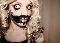 Slit Mouth Woman