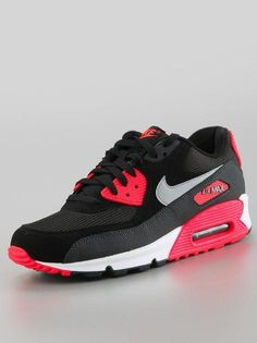on sale b7613 4c7f2 Nike Air Max 90 Essential Black Wolf Grey Atomic Red Anthracite  Nike   AirMax  NikeAirMax  AirMax90  Sneakers  Sneaker  NikeAirMax90  NikeAir