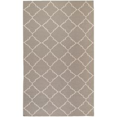 Alea Taupe (Brown) 8 ft. x 11 ft. Indoor Area Rug