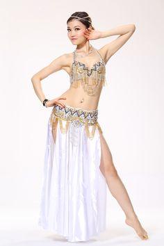 Traje de danza del vientre con cuentas profesional de la ropa del vientre para mujeres vientre sujetador y falda en Danza del Vientre de Novedad y de uso especial en AliExpress.com | Alibaba Group
