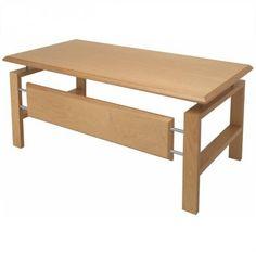 Designer Schreibtisch UNO - gebeizt nussbaum