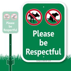 Use our Please Be Respectful LawnBoss Sign with No Dog Pee Poop Symbols. Great for outdoor use. Quick delivery at doorsteps! Smooth Fox Terriers, Dog Pee, The Fox And The Hound, Veterinary Medicine, Dog Signs, Cute Quotes, Animals And Pets, Dogs And Puppies, Gardens
