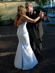 My original favorite from when I worked at David's bridal. Wedding Dress Bustle, Wedding Bridesmaid Dresses, Bridal Dresses, Bridesmaids, Dress Alterations, August Wedding, Wedding Looks, Wedding Bells, Wedding Wishlist