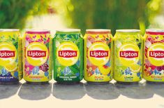Before & After: Global re-design for Lipton Ice Tea — The Dieline - Package Design Resource Craft Packaging, Coffee Packaging, Packaging Design, Green Tea Diet, Pure Green Tea, Alcoholic Iced Tea, Lipton Ice Tea, Tea Labels, Little Buddha
