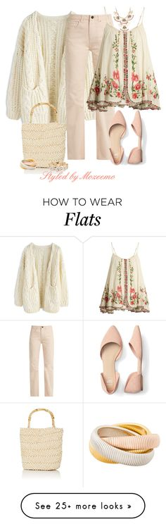 """""""Basket Bag (Contest)"""" by mozeemo on Polyvore featuring Raey, Mes Demoiselles..., Barneys New York, Janis Savitt and M&Co"""