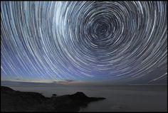 time lapse of Australian night sky
