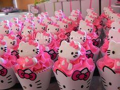 Hello Kitty cupcake gloriagonz