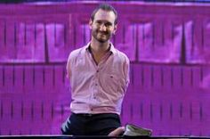 """Image copyright                  Getty Images                  Image caption                     The article was prompted by the visit to Russia of motivational speaker Nick Vujicic, who has no arms or legs   A leading Russian journalist has faced a public backlash to an opinion piece in which he appeared, to many readers, to put forward the view that disabled people should not have children and would ideally """"die straight away"""". But the article"""