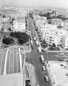 L Street and 23 st. Vedado, Havana Cuba