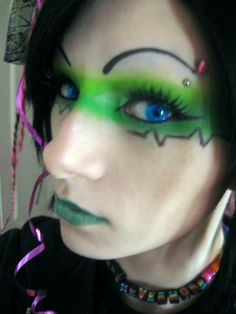ECG Makeup by *NiKKiNeVeRMORe on deviantART