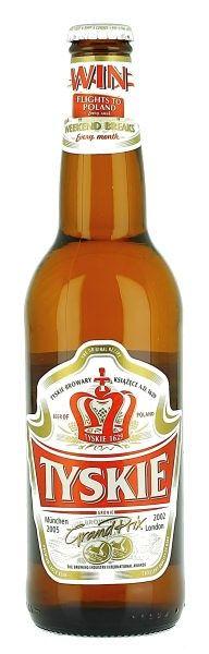 Tyskie 500ml | Tyskie Brewery  POLAND