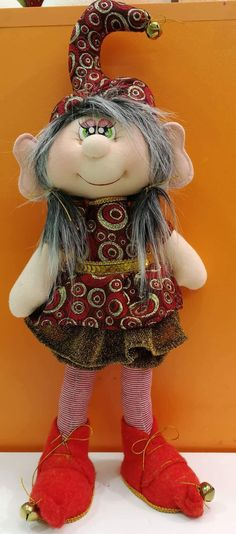 Christmas Diy, Christmas Decorations, Holiday, Fairy Houses, Jingle Bells, Elves, Puppets, Art Dolls, Creations