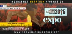 Spot Registration for dream ride (6 Kms) only & collect your Timing chip & riding Bibs from Expo at Vallabh Sadan on 12th FEB 2015 between 10:00 AM to 6:00 PM 13th FEB 2015 between 10:00 AM to 3:00 PM http://sabarmatimarathon.net/ #RelianceSabarmatiMarathon #Marathon #GujaratMarathon