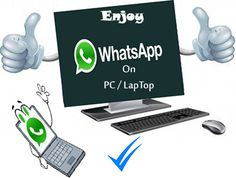 Whatsapp For PC Download ! its now possible to run it on your computer very easily by following steps given and you need to install a app on your PC now!