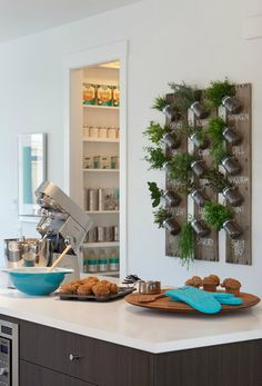 25 ideas para decorar tu cocina con plantas #plantas #cocina #aperfectlittlelife ☁ ☁ A Perfect Little Life ☁ ☁ www.aperfectlittlelife.com ☁