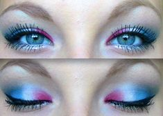 4th+of+julg+makeup | The works. / fourth of july makeup!