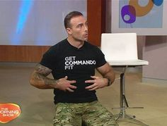 Commando Steve joins us to chat diet, exercise and the new food pyramid.