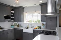 Transitional Kitchen by Dura Supreme Cabinetry Love It!!!