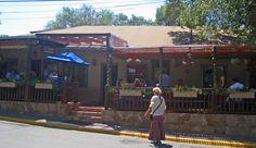 On the Road in New Mexico: El Farol Restaurant