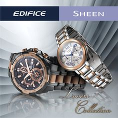 Upto 20% off on #Casio Edifice & Sheen Collection!!