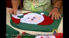 feltro natalino - YouTube