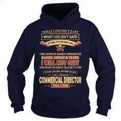 COMMERCIAL-DIRECTOR - #retro t shirts #design tshirts. I WANT THIS => https://www.sunfrog.com/LifeStyle/COMMERCIAL-DIRECTOR-93495409-Navy-Blue-Hoodie.html?60505